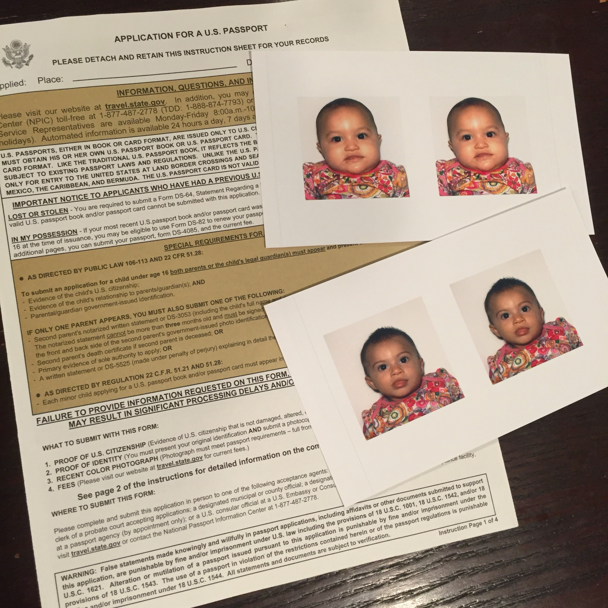 Two Tickets To Paradise: Getting Passports For My Babies Gone With The Twins